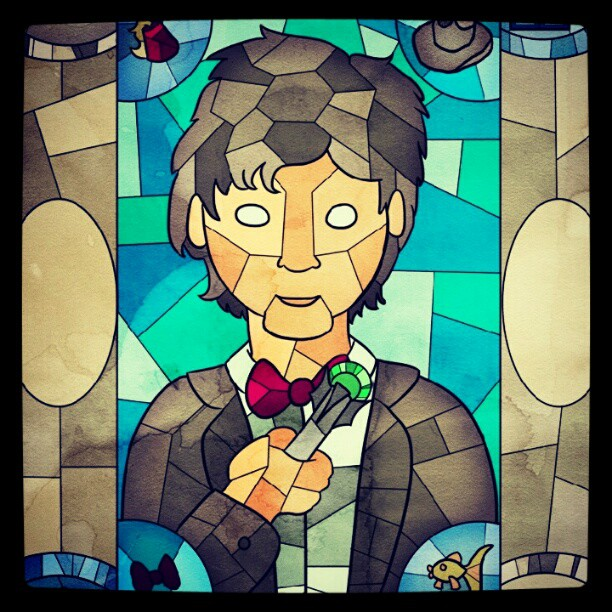 Eleven Stained Glass