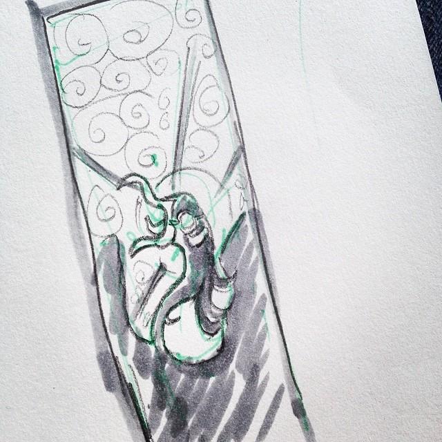 Manifest Destiny - Sketch/Thumbnail