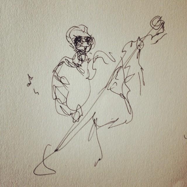 Bassist Sketch
