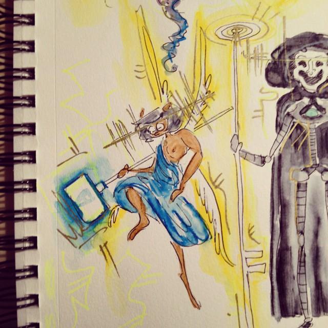 Leo Muse Sketch
