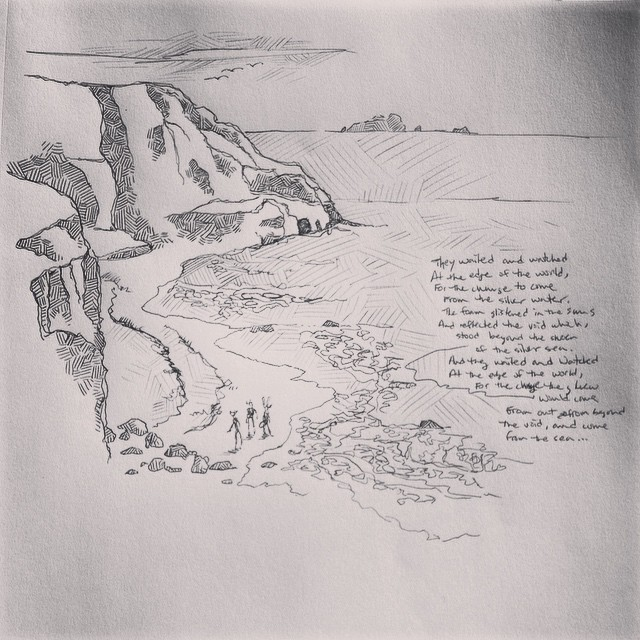 The Edge of the World - Sketch