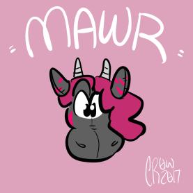 head/color - mawr plush