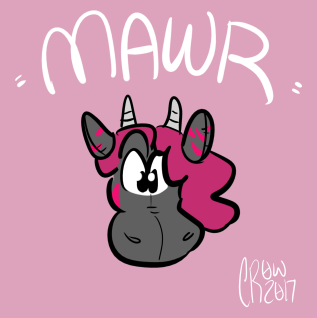head/color - mawr plush